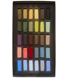 Пастель Terry Ludwig Soft Pastels - Basic Landscape Colors (30 штук)