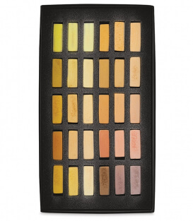 Пастель Terry Ludwig Soft Pastels - Stunning Yellows (30 штук)
