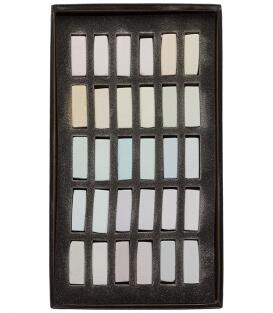 Пастель Terry Ludwig Soft Pastels - True Lights (30 штук)