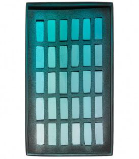 Пастель Terry Ludwig Soft Pastels - Turquoise (30 штук)