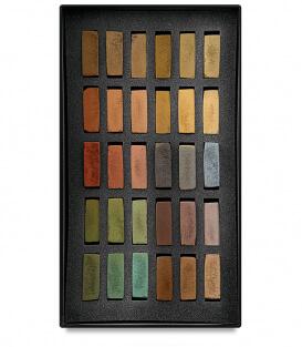 Пастель Terry Ludwig Soft Pastels - Umber Shadows and Shades (30 штук)