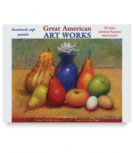 Пастель Great American Art Works General Purpose (39 штук)