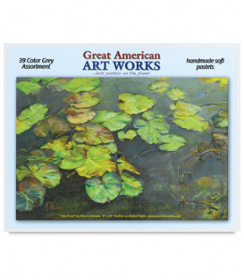 Пастель Great American Art Works Grays (39 штук)