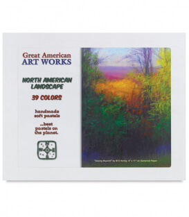 Пастель Great American Art Works North American Landscape (39 штук)