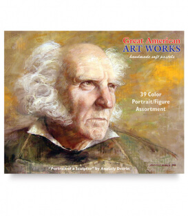 Пастель Great American Art Works North American Portrait (39 штук)