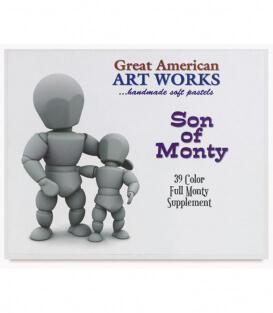 Пастель Great American Art Works North American Son of Monty (39 штук)