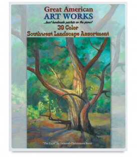 Пастель Great American Art Works North American Southwest Landscape (39 штук)