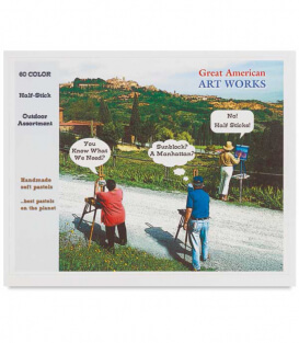 Пастель Great American Art Works Half Stick Set (60 штук)