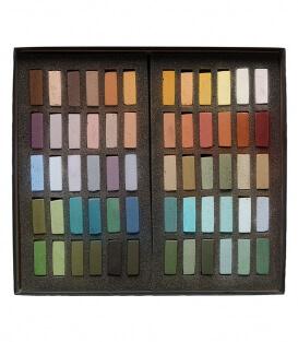 Пастель Terry Ludwig Soft Pastels - Plen Air Landscape Colors (60 штук)