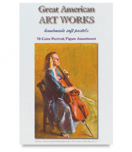 Пастель Great American Art Works Carducci Portrait (78 штук)