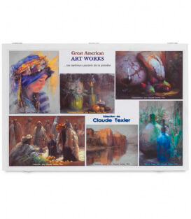 Пастель Great American Art Works Claude Texier Assorted (78 штук)