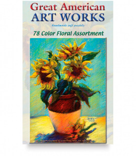 Пастель Great American Art Works Tarbet Floral (78 штук)