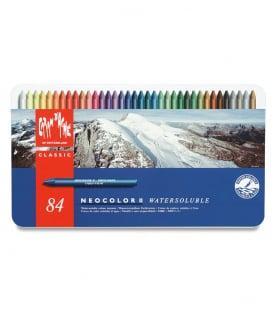 Акварельная пастель Caran d'Ache Neocolor II Watersoluble (84 цвета)