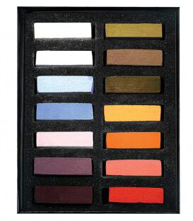 Пастель Terry Ludwig Soft Pastels - Best Loved Basics (14 штук)