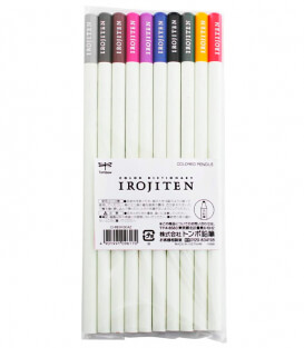 Набор карандашей Tombow Irojiten New Color Set CI-REX10CAZ (10 шт)