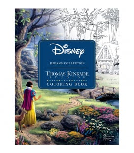 Раскраска Disney Dreams Collection от Thomas Kinkade Studios