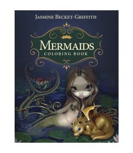 Раскраска Mermaids Coloring Book: An Aquatic Art Adventure