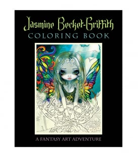Раскраска Jasmine Becket-Griffith Coloring Book: A Fantasy Art Adventure