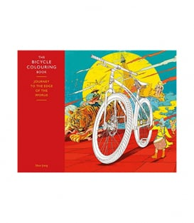 Раскраска The Bicycle Coloring Book: Journey to the Edge of the World
