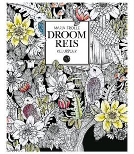 Раскраска Droomreis от Maria Trolle (изд. BBNC Uitgevers Нидерланды)
