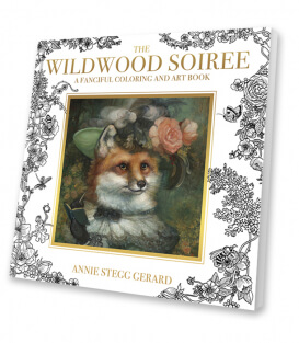 Раскраска The Wildwood Soiree от Annie Stegg Gerard (изд. США)