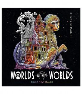 Раскраска Worlds Within Worlds (изд. Plume Америка)