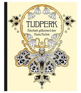 Раскраска Tijdperk от Hanna Karlzon (изд. BBNC Uitgevers Нидерланды)