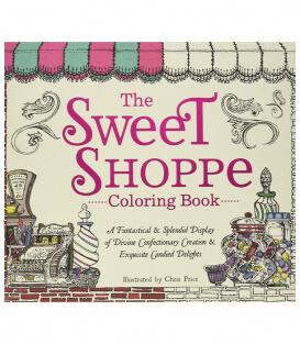Раскраска The Sweet Shoppe Coloring Book от Chris Price (изд. Adams Media Corporation США)