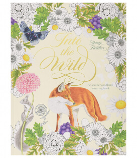 Раскраска Into the Wild: An Exotic Woodland Coloring Book от Daisy Fletcher (изд. Laurence King Англия)