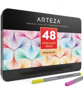 Набор линеров ARTEZA Fineliners Fine Point Pens (48 штук)