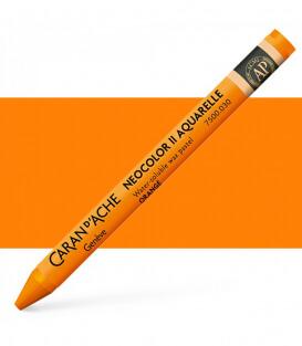 Акварельная пастель Caran d'Ache Neocolor II 030 Orange