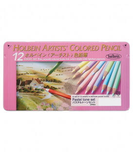 Набор карандашей Holbein Artists' Coloured Pencil Pastel Set (12 штук)