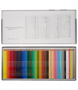 Набор карандашей Holbein Artists' Coloured Pencil (50 штук)