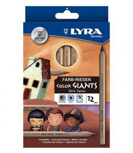 LYRA Color Giants Skin Tone (12 штук)