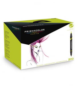 Маркеры Prismacolor Premier Double-Ended Art Markers, Fine and Brush Tip (200 штук)