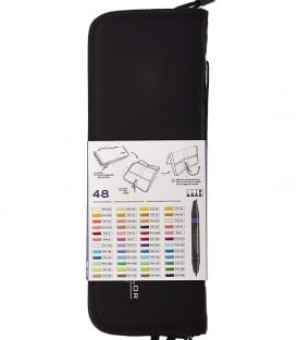 Маркеры Prismacolor Premier Double-Ended Art Markers, Fine and Chisel Tip (48 штуки)