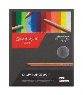 Caran d'Ache Luminance 6901 (12 цветов)