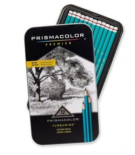 Набор графитовых карандашей Prismacolor Premier Turquoise Sketching Pencils (12 штук)