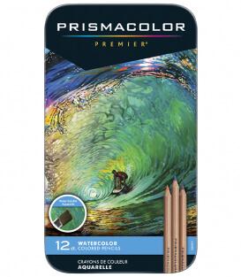 Набор акварельных карандашей Prismacolor Water-Soluble Colored Pencils (12 штук)