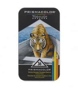 Набор акварельных карандашей Prismacolor Water-Soluble Colored Pencils (36 штук)