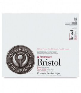 Альбом Strathmore 500 Series Bristol Plate Surface 14 × 17