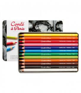 Набор пастельных карандашей Conté à Paris (12 штук)